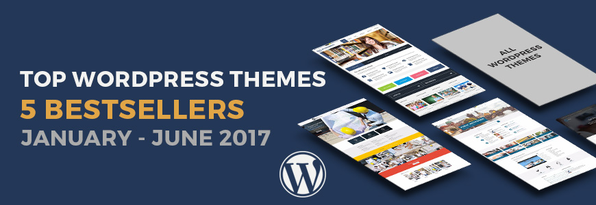 Top best selling WordPress themes 2017