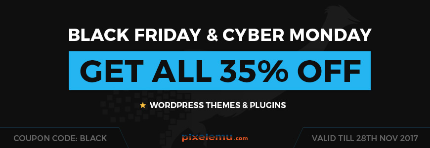 Black Friday WordPress themes & plugins