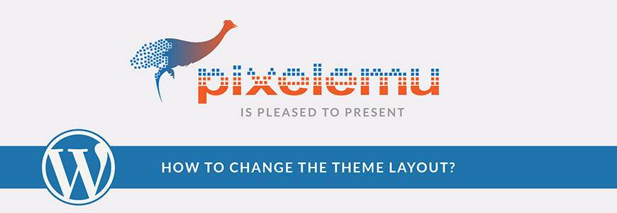 How to change the WordPress theme layout?