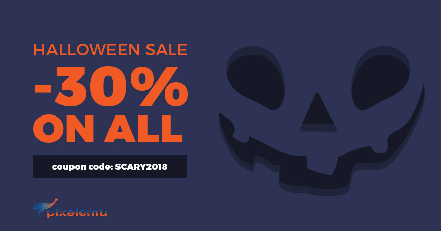 Ready for a  frightful Halloween 2018 WordPress theme discount?