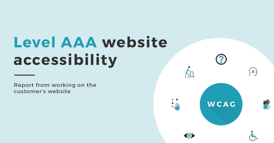 How to get level AAA website accessibility?
