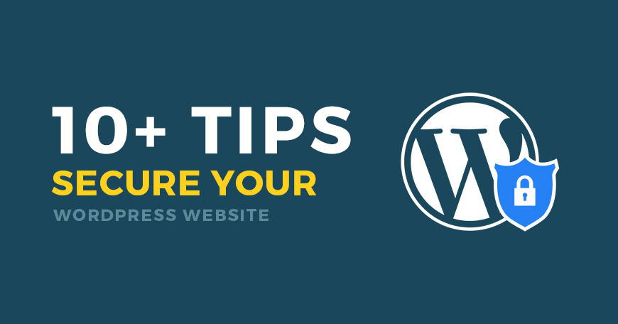 Golden rules to secure WordPress website.