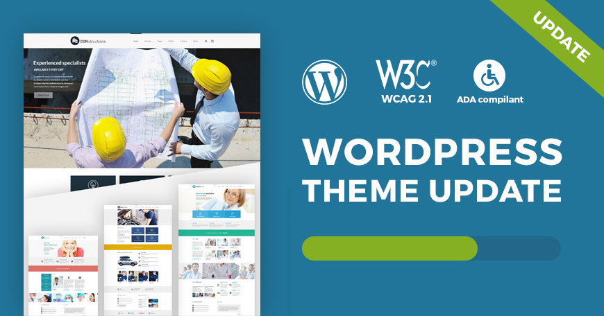 Services WCAG and ADA WordPress theme updated to ver. 1.5. Check what changed.