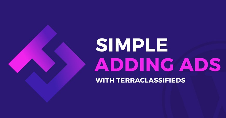 Simple adding ads with TerraClassifieds  free classifieds WordPress plugin