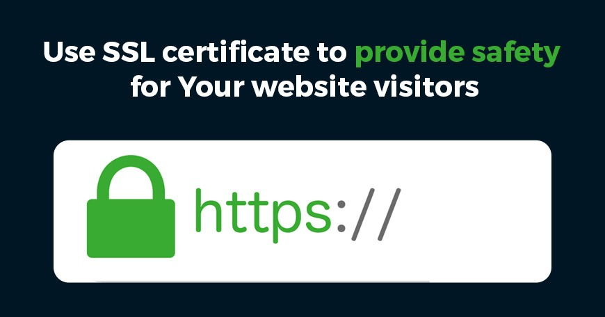 Use SSL Certificate
