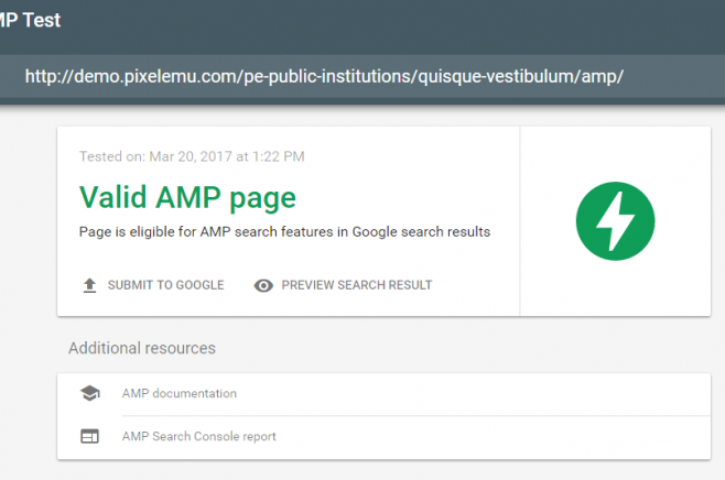 amp theme for wordpress