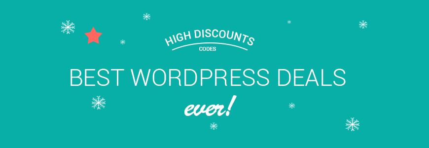 Check the list of best Xmas & New Year deals coupons for WordPress themes & plugins!
