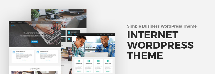 WordPress company theme