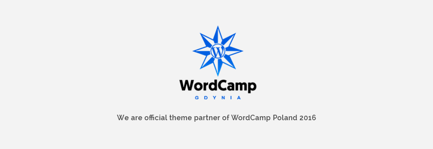 We are official partners of WordCamp Poland Conference  2016.