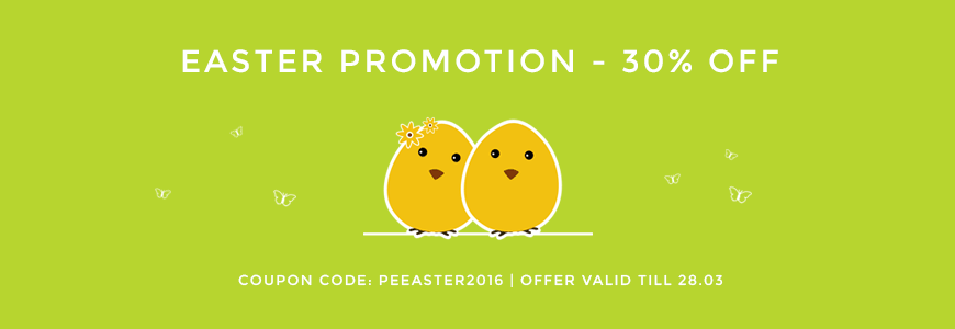 Spring & Easter Sale! 30% off on all themes!
