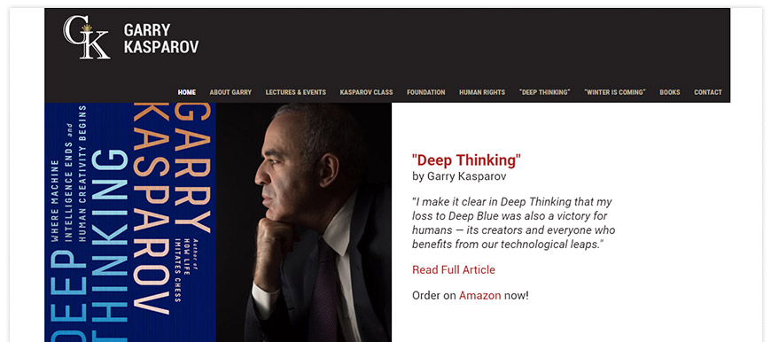 garry kasparov website
