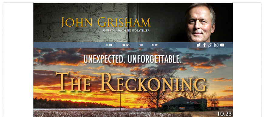 john grisham website