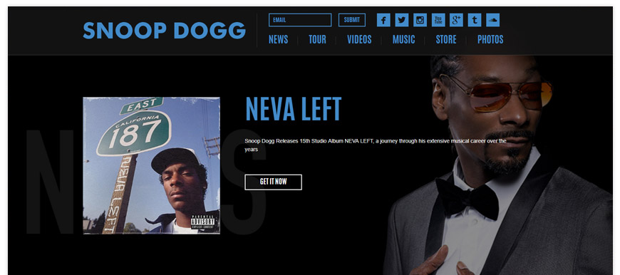 snoop dogg website