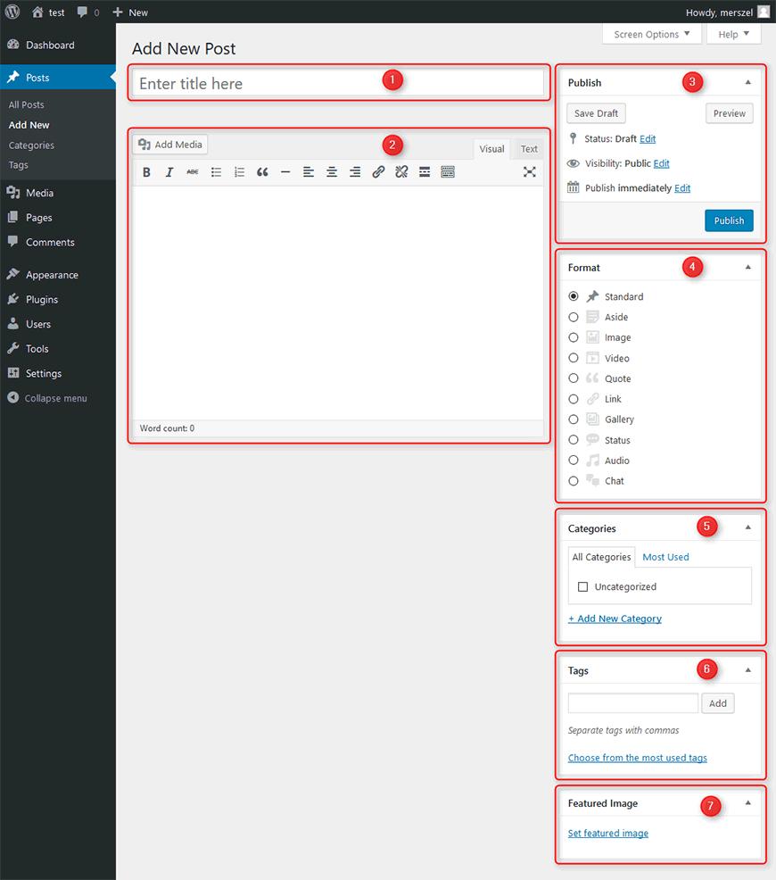 WordPress Post - how to create? - PixelEmu