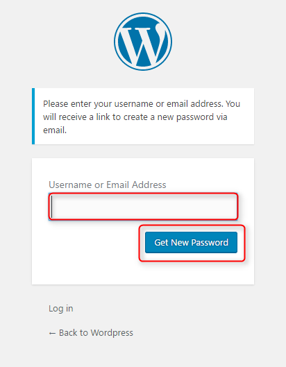 Forgot password in WordPress? Recover a lost password  3