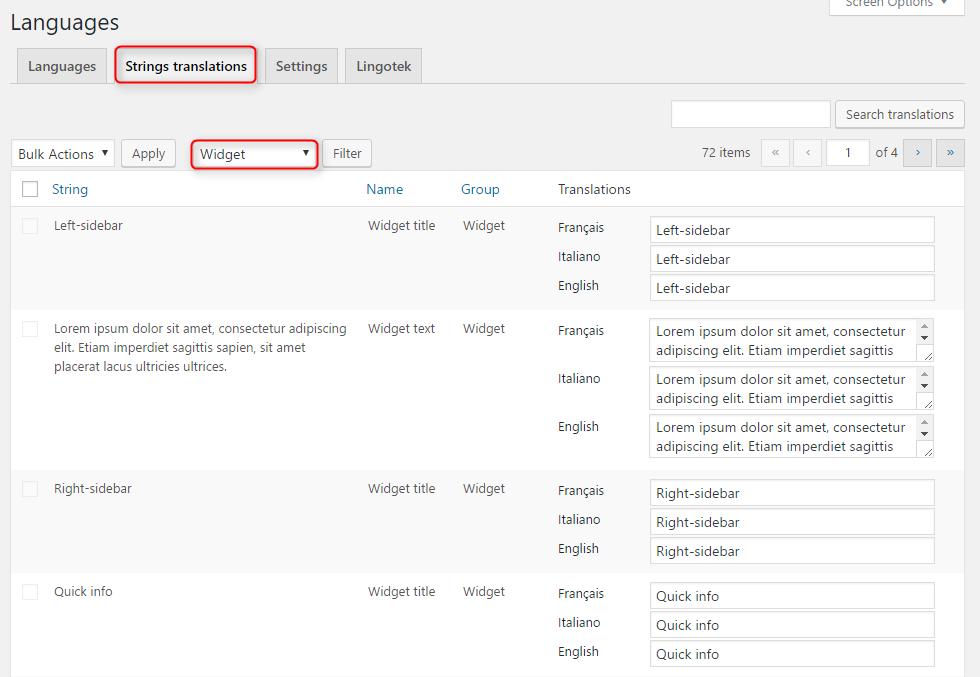 polylang 4 - Cách tạo trang Wordpress đa ngôn ngữ với plugin Polylang từ A-Z