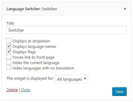 polylang 6 - Cách tạo trang Wordpress đa ngôn ngữ với plugin Polylang từ A-Z