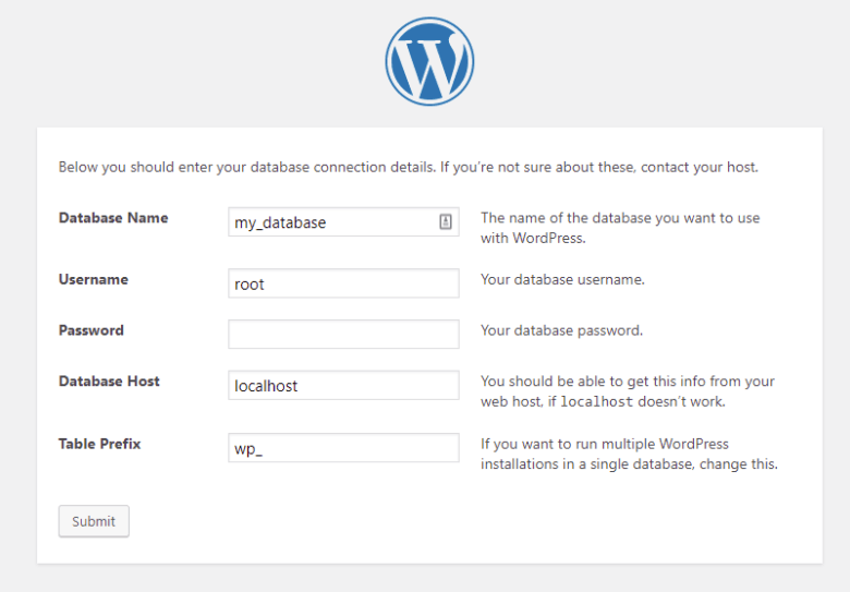 How to install WordPress on localhost?