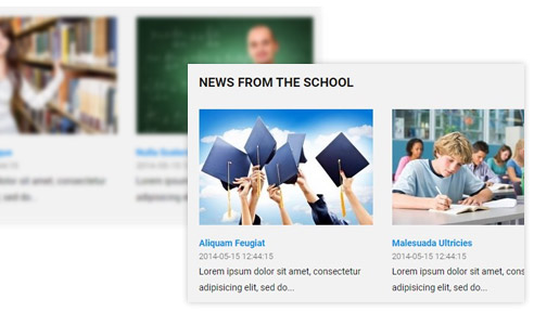 news education WordPress theme