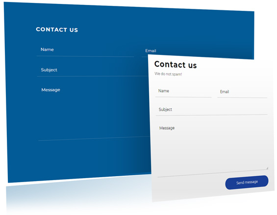 quick contact wordpress theme widget