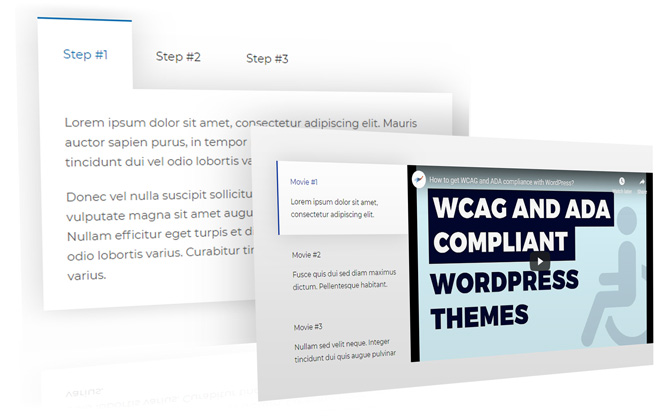 tabs wordpress theme widget
