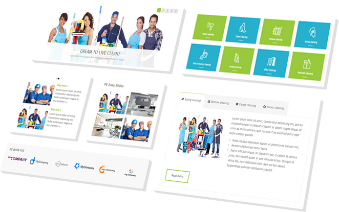 customizable - Cleaning Company Multipurpose WordPress Theme