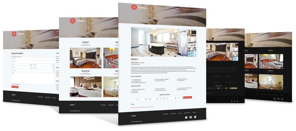 hotel theme presentation - Hotel & Resort WordPress Theme