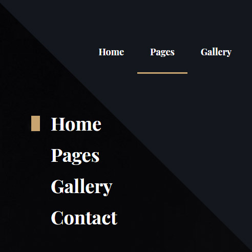 vertical menu for wordpress theme