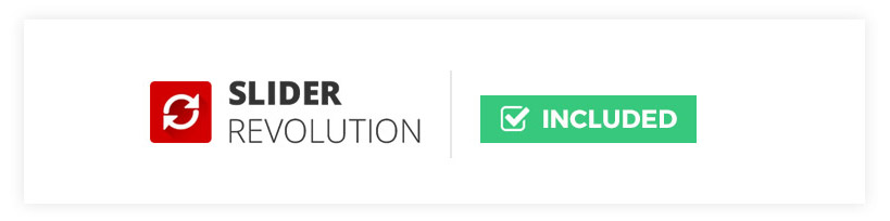 wordpress theme revolution slider included for free